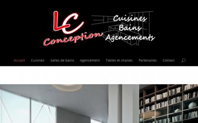 Le site de LC Conception est en ligne