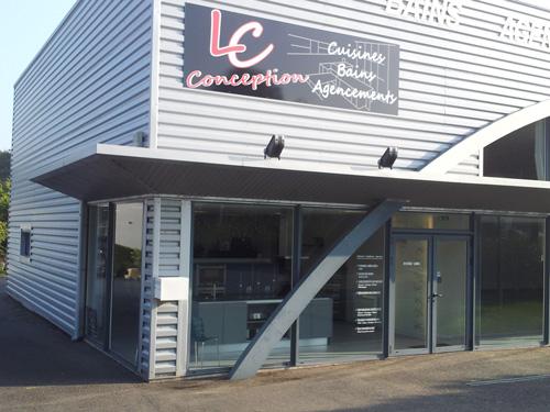 Enseigne LC Conception